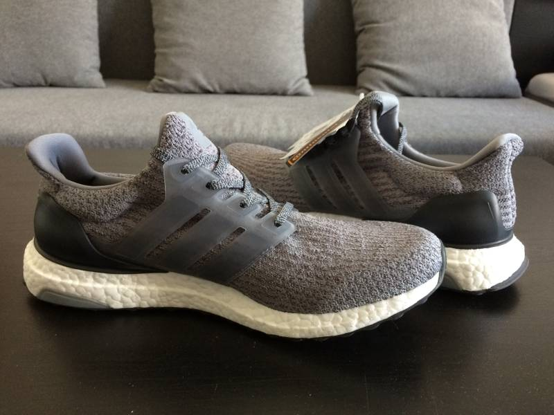 New UA Ultra Boost 3.0 Silver Boost Gray Silver with Low Prices at