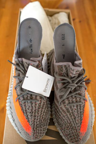 ADIDAS YEEZY BOOST 350 TURTLE DOVE SIZE 11 sneakeruns