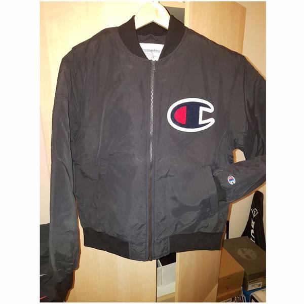 Supreme x Champion Color Blocked Jacket Black Small - photo 5/5