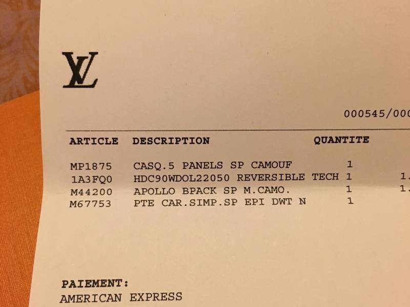 Invoice Through Paypal Word Louis Vuitton X Supreme Apollo Backpack Camo  From Jean  1099 Invoice Pdf with Purchase Orders And Invoices Are Examples Of Louis Vuitton X Supreme Apollo Backpack Camo  Photo  Invoice Templte