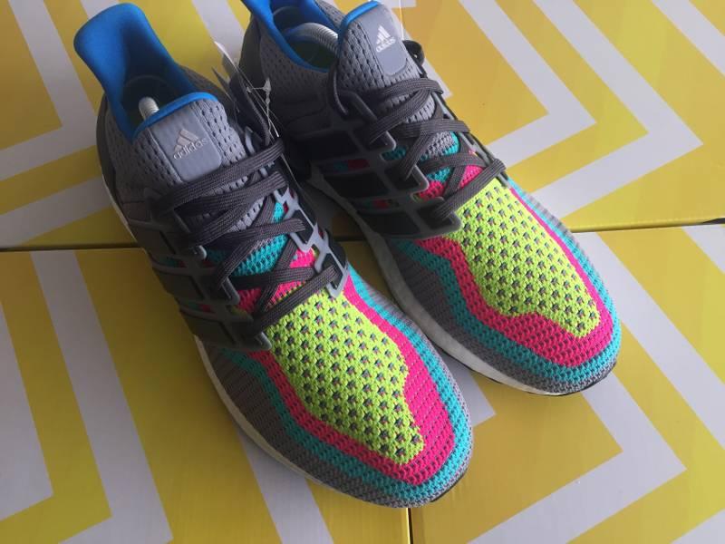 hot sales fa235 d2b45 ... buy adidas ultra boost grey gradient multicolor rainbow photo 2 6 d0127  3814d