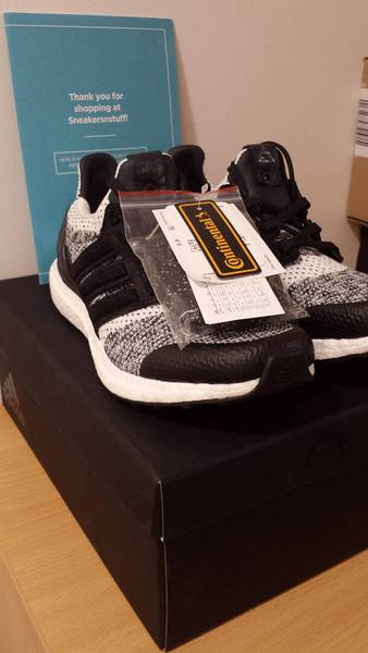Adidas Ultra Boost Sneakersnstuff SNS X Social Status UK 6 / US 6.5 BY2911 - photo 2/6