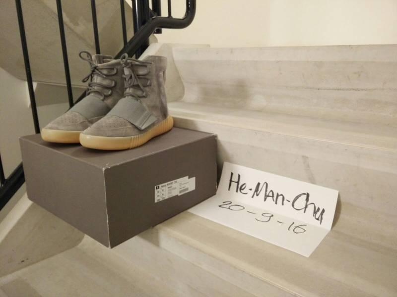 VNDS Adidas Yeezy Boost 750 Grey Gum US10 - photo 1/5