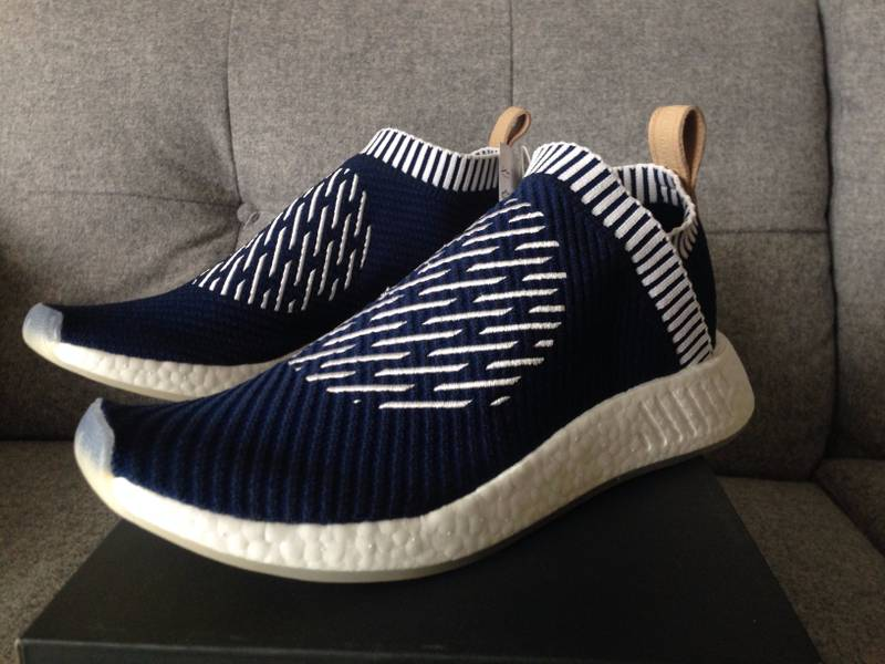 separation shoes 88749 c658c Adidas NMD Black White On feet Video at Exclucity