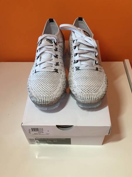 Nike Air VaporMax FK x Comme Des Garcons CDG Pure Platinum