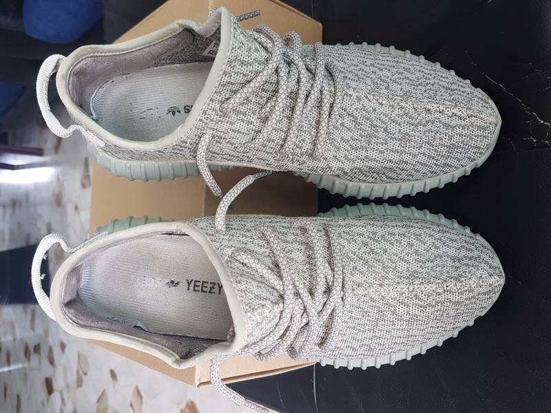 Adidas yeezy boost 350 v2 green SPLY 10 size new authentic