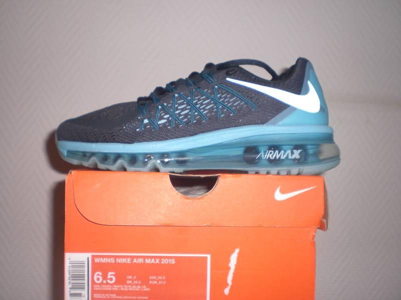 100% authentic f18d5 a8197 ... Nike air max 2015 Dark Obsidian US6.5(wmns)EUR37.5 ...