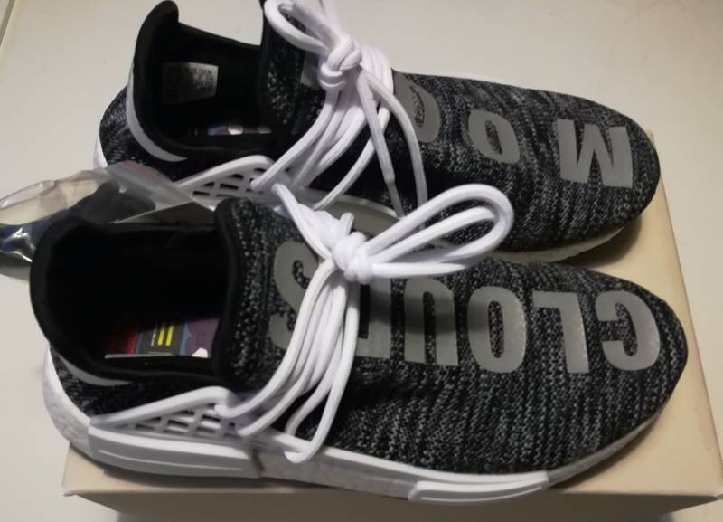 hot sale online 1ee90 f5d3a Adidas NMD Pharrell Human Race for sale The Sole Library