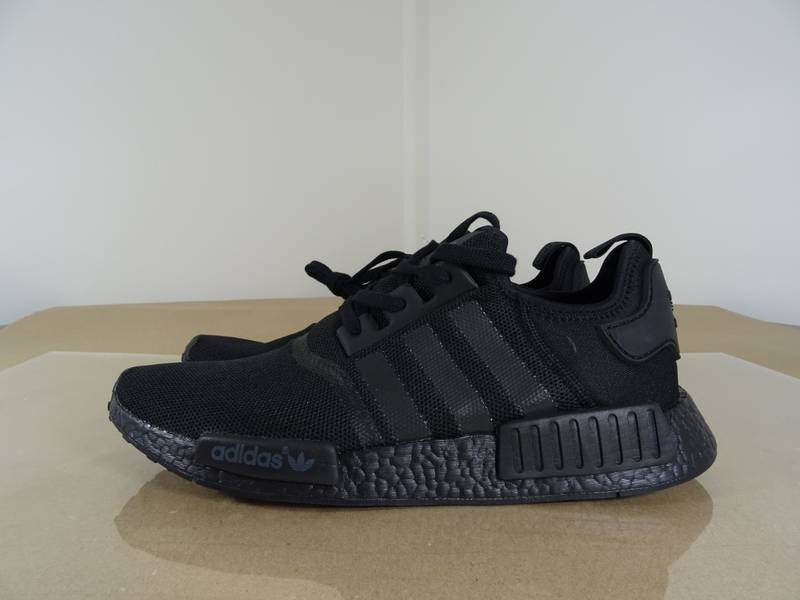 Adidas NMD R1 Triple Black Monochrome Pack (Multiple Rare Sizes) - photo 1/8