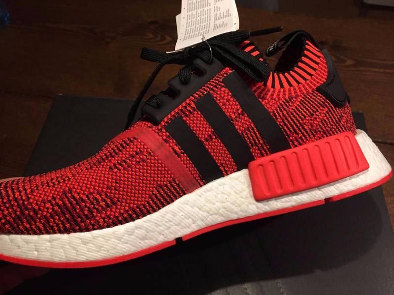 c349845ad15c ... Adidas NMD R1 Primeknit Red Apple 2.0 900 pairs - photo 15 ...