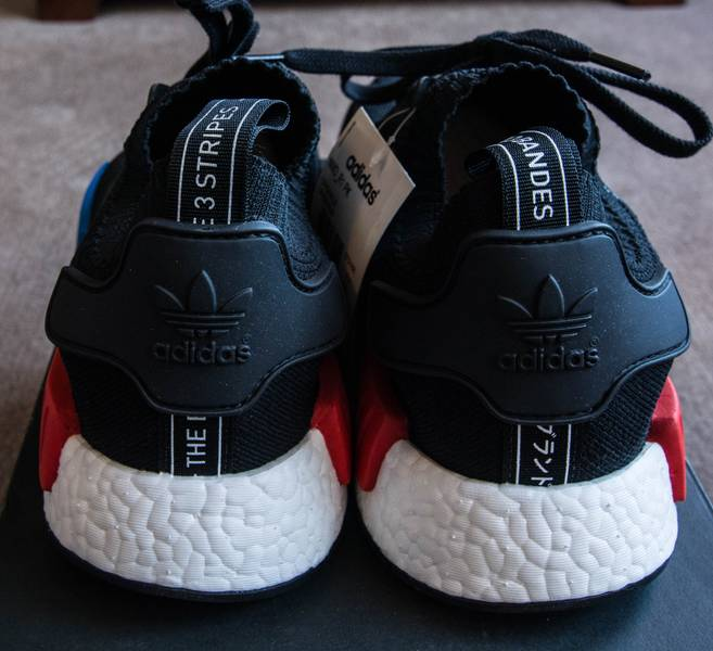 NEW ADIDAS NMD R1 ''TRIPLE RED'' SOLAR RED RUNNING