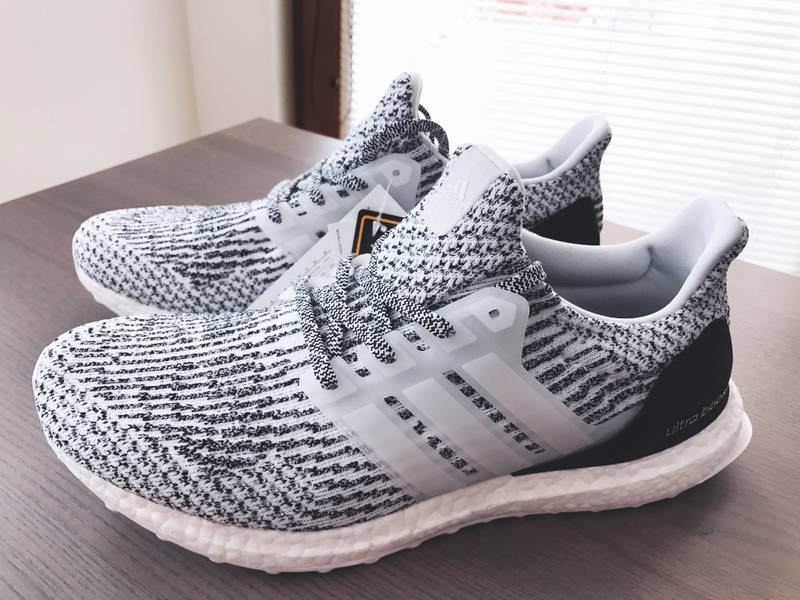 2017 Adidas Ultra Boost 3.0 Triple Black Size 13. BA8920 yeezy nmd