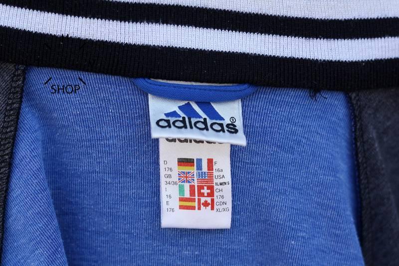 vintage adidas eqt equipment track top windbreaker hoodie. Black Bedroom Furniture Sets. Home Design Ideas