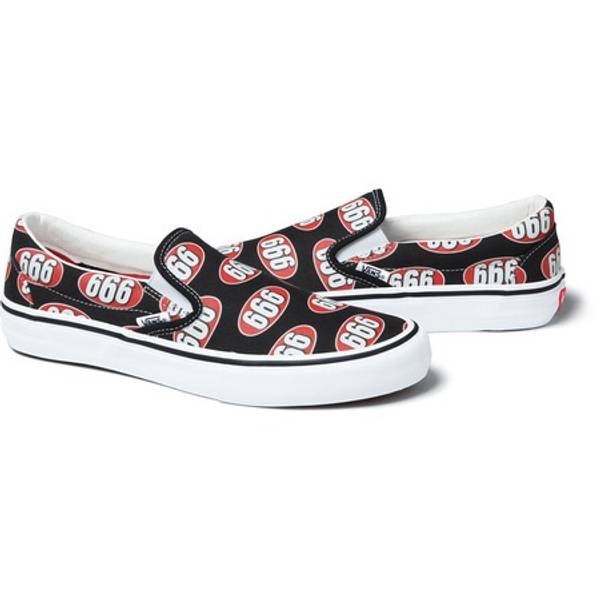 a21a92815657 Supreme x Vans 666 Slip-on - Black - 9 US ( 1127726) from Le ...