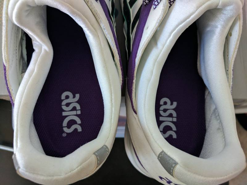 Asics Gel Lyte V Retro OG White/Purple 1st Retro Series - photo 6/8