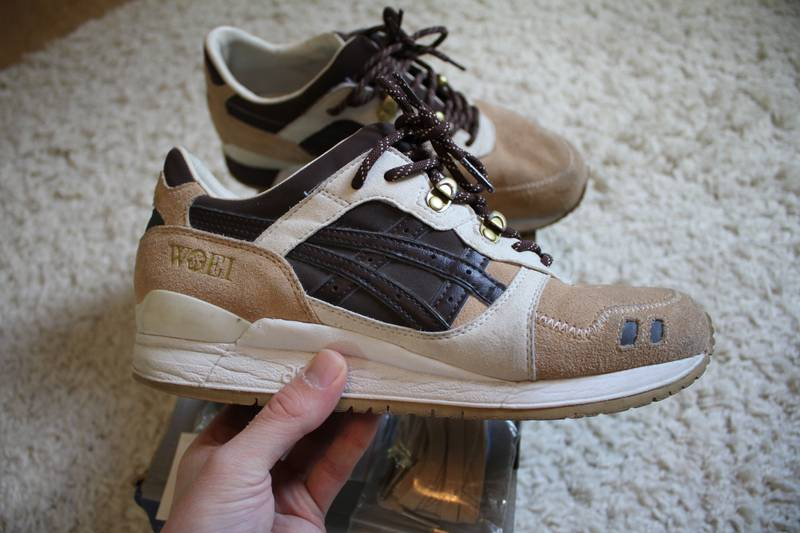 release date: 2e9d9 a42ee woei x asics gel lyte iii cervidae another look