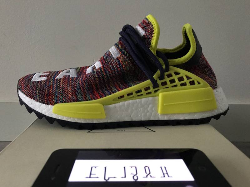 8b7ba7b7e24ee Pharrell low key flexes a new Adidas Originals NMD Hu colorway · Yeezy Mafia  on Twitter
