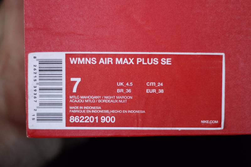 5929379d0f ... coupon for switzerland nike air max plus tn se mtlc mahogany night  maroon photo 5 b9d40