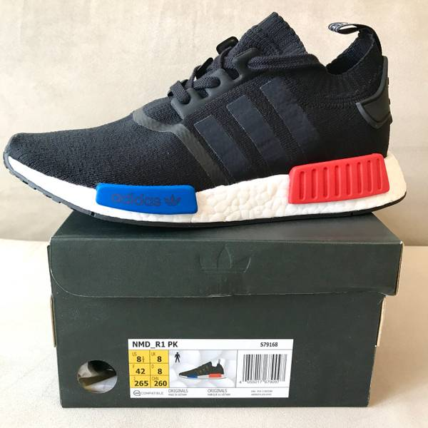 NEW 2017 ADIDAS NMD R1 TRIPLE BLACK 10 NOMAD MESH