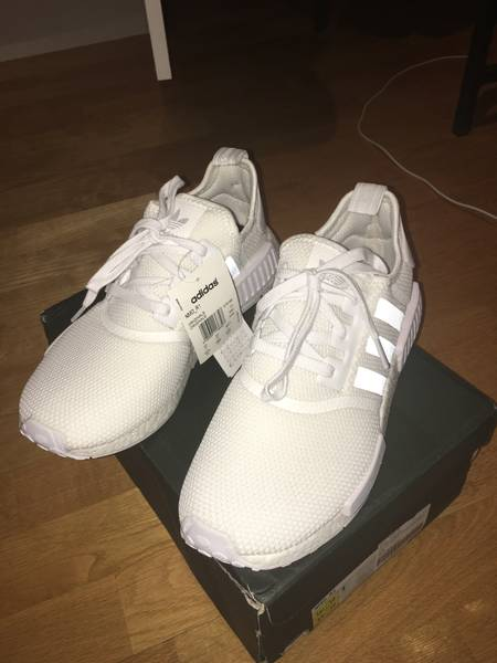 ixvawl Adidas nmd r1 white reflective US 10,5 (DS) (#1088843) from