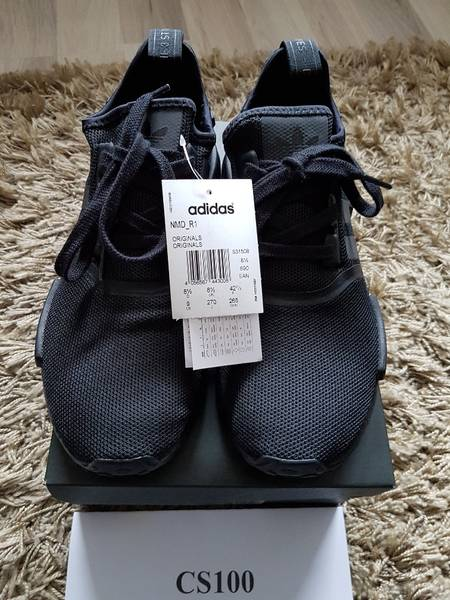 best sneakers 1c0db e0af8 Adidas NMD Custom Gucci Black Real Boost . NMD R1 Gucci