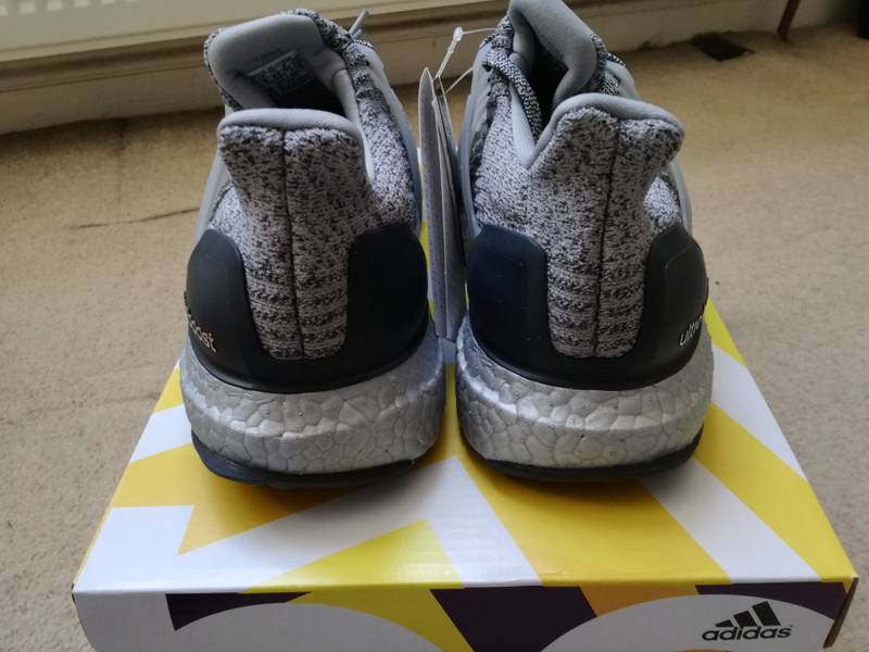 Our First Look At The adidas Ultra Boost 3.0 Blue And Silver Cheap