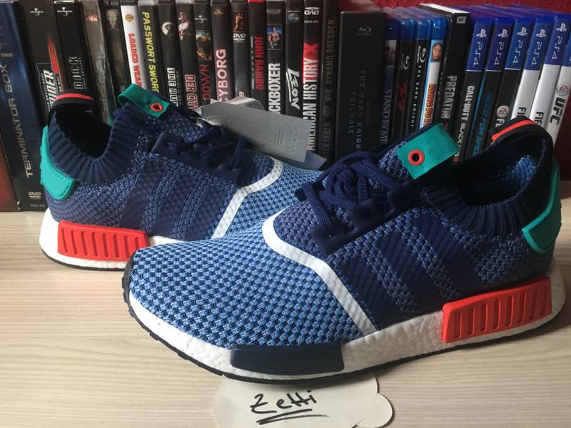 adidas NMD R1 Trail W shoes grey red white Stylefile
