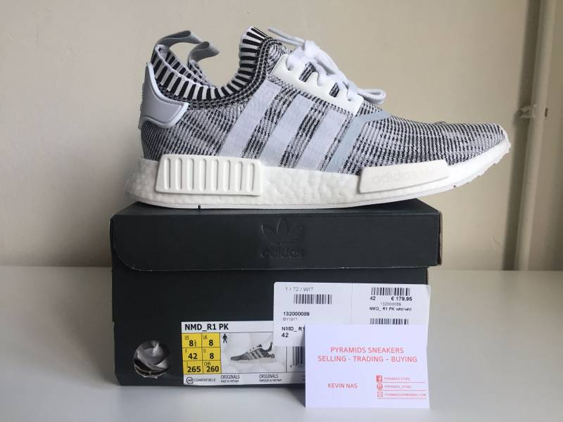 NMD R1 Champs Exclusive Burgundy Black White B39506 Size 10 1