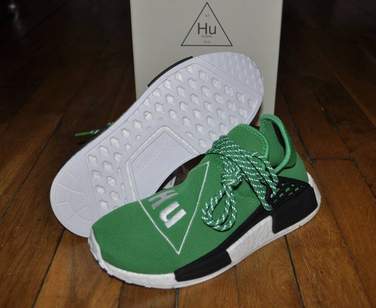 Pharrell x adidas NMD 'Human Race' Gets New Green Colorway