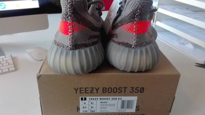 Adidas Yeezy Boost 350 V2 Black/Red BY9612 / Fresh Kicks Houston