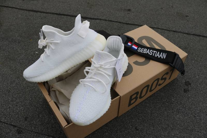 """<strong>YEEZY</strong> BOOST <strong>350</strong> V2 """" <strong>Cream</strong> <strong>white</strong> """" - photo 1/5"""