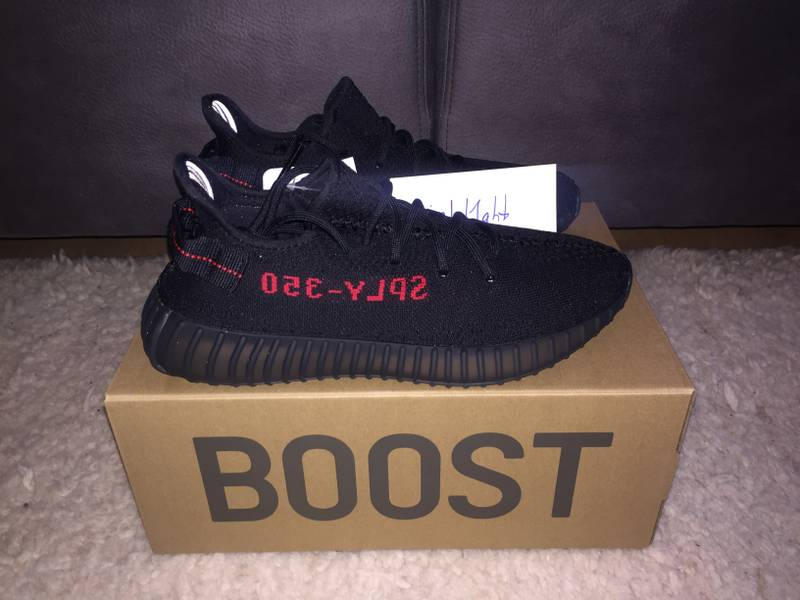 Yeezy Boost 350 V2 Bred US 9.5 - photo 3/5