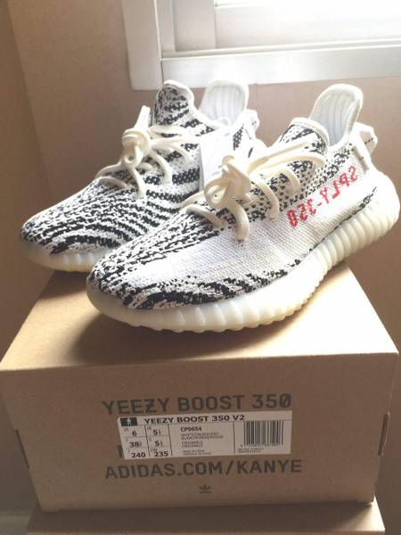 Yeezy Boost 350 v2 Zebra Size 8.5 (100% Authentic)