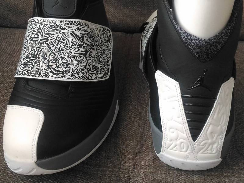 Air Jordan XX Black/White - Cool Grey - photo 5/5