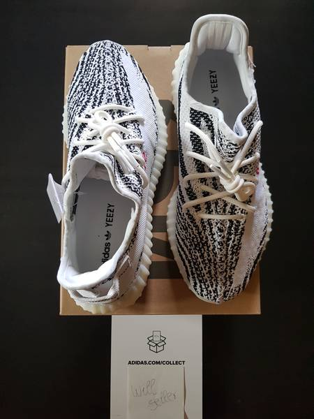 Adidas Yeezy Boost 350 v2 ZEBRA size 10.5 *100% Authentic