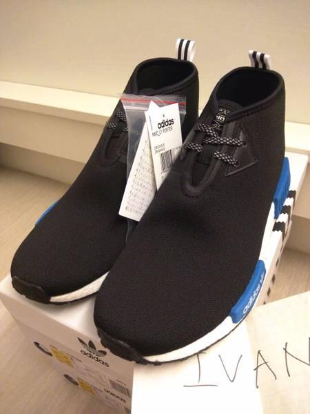 5baf9081585 Adidas NMD C1 OG Chukka S79148 Black   Red   Blue UK 11 Shoes