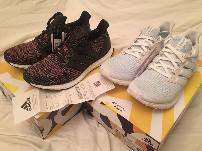 Adidas ultra boost 3.0 ltd limited leather black (# 1107186) from Paweł