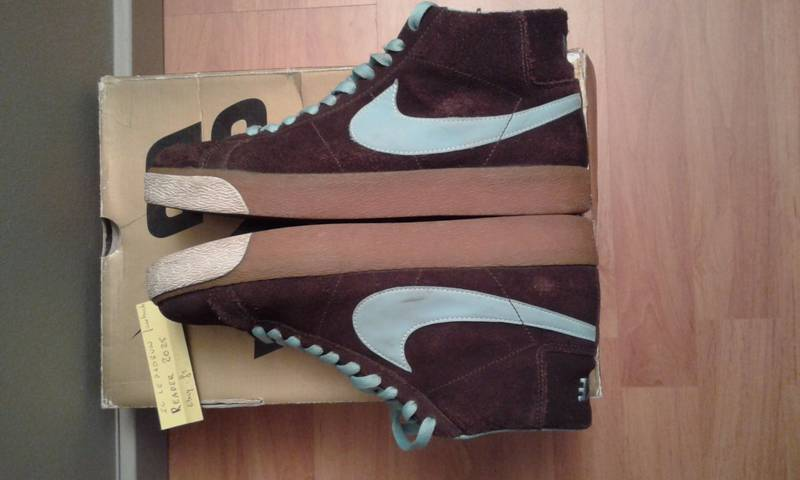 size 40 96ff0 9ef79 ... Nike Blazer SB – Cappuccino   Blue Chill 8.5 US   7.5 UK   26.5CM ...