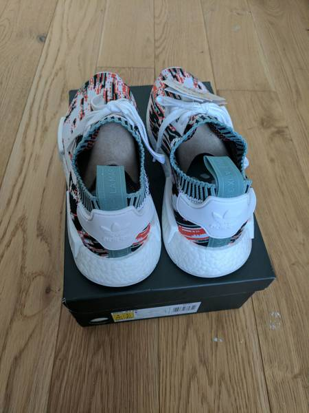 Adidas NMD R1 Triple Black Boost All Black S31508 Mesh Mens Sz