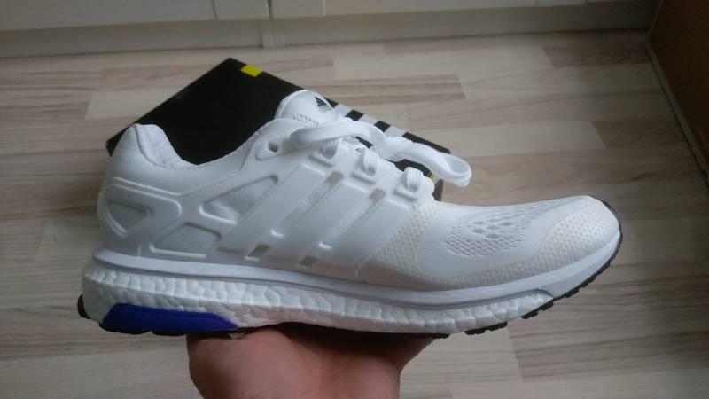 adidas Energy Cloud K Black White Kids Boys Girls Running Shoes