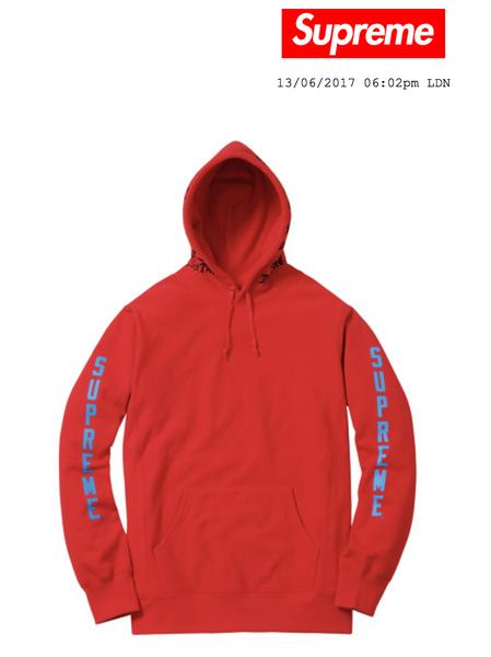 Thrasher supreme hoodie