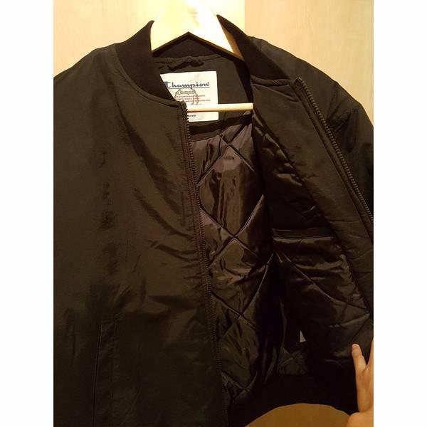 Supreme x Champion Color Blocked Jacket Black Small - photo 3/5