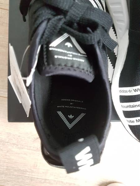 Cheap Adidas WM NMD R2 PK White Mountaineering Primeknit Black White