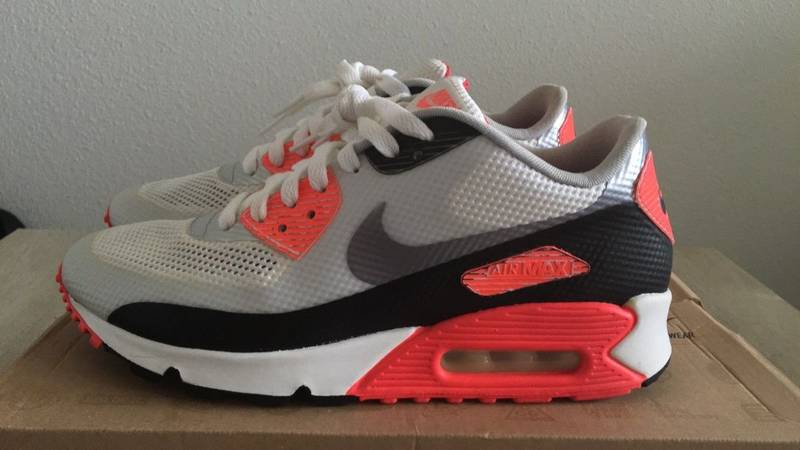 various colors de000 22175 ... CEMENT   INFRARED  Nike Air Max 90 Infrared Hyperfuse NRG OG QS size  7US 6UK 40EUR ...