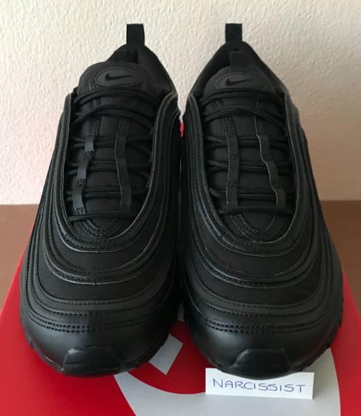 ... Nike Air Max 97 Premium Black Gold AA3985 001 UK 10 - photo 1 ... b26310cac