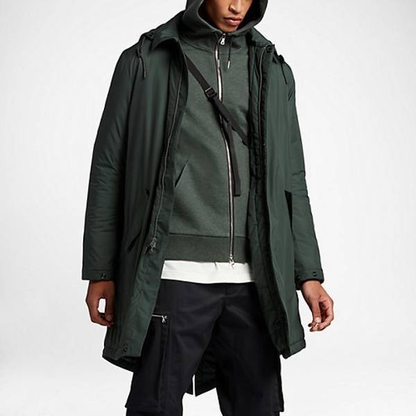 Nikelab insulated jacket outdoor green size M - photo 5/5