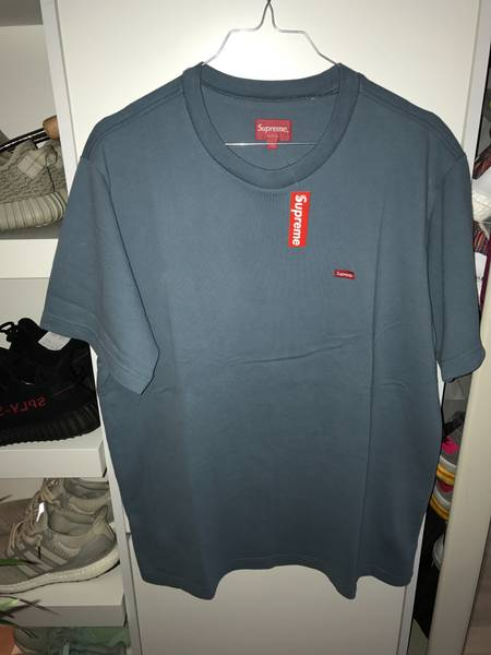Supreme Small Box Pique Tees M green - photo 5/5