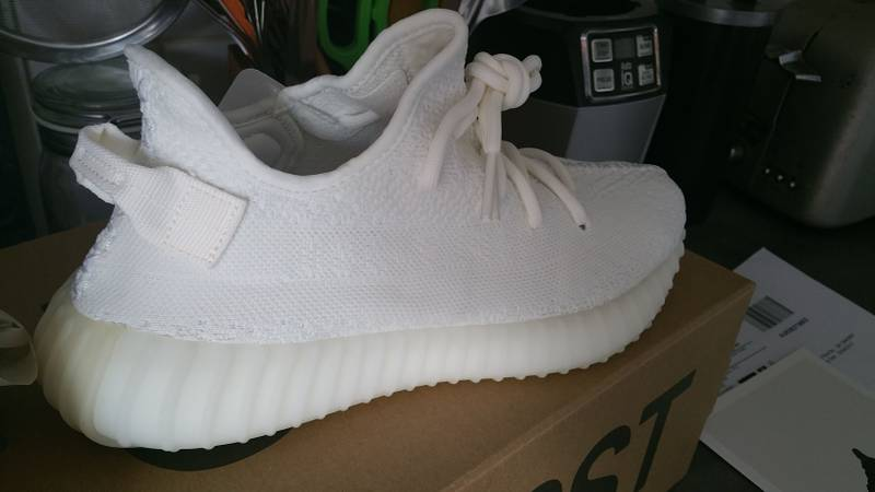 751a320f1 ... ebay adidas yeezy boost 350 v2 cream white cp9366 size us 7.5 uk 7  aa2a9 809ef