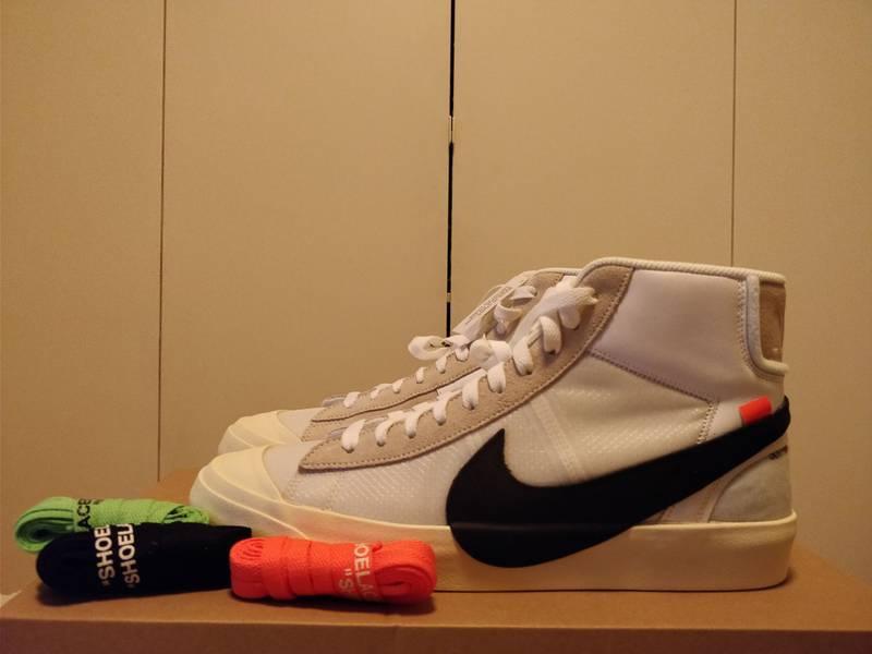 Nike x Off White The 10 Blazer mid US 11 - photo 3/7
