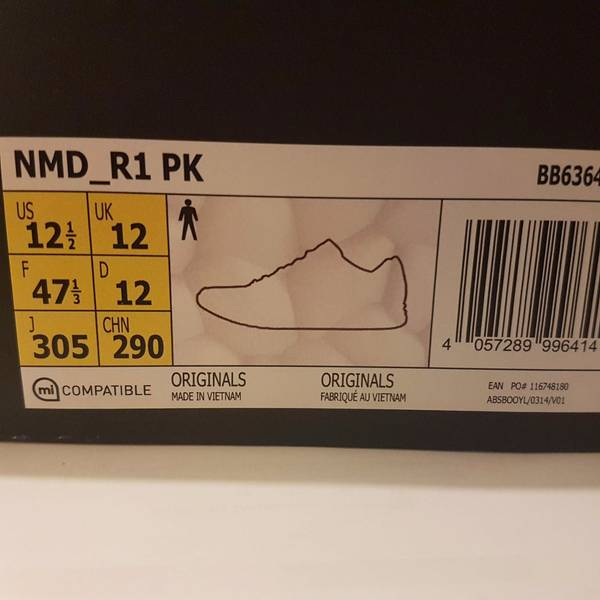 Adidas NMD R1 Sneakersnstuff SNS Datamosh Clear Aqua BB6364 - photo 6/6